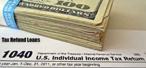 Cash advance on income tax refund